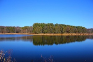 Szelidi tói kékmoszat tanösvény
