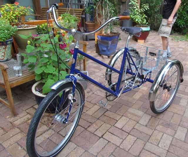 Speciális Csepel kerékpár időseknek