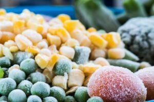 gyorsfagyasztott zöldségek
