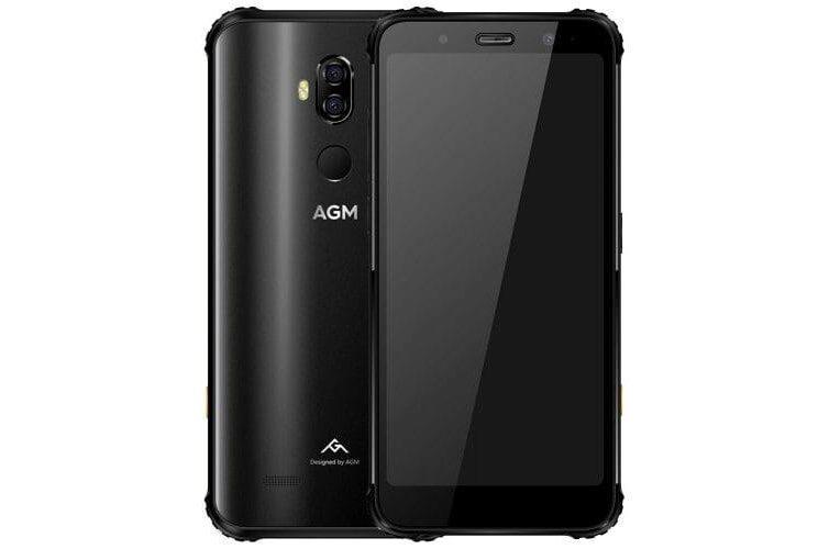 Ütés- és karcálló AGM okostelefon