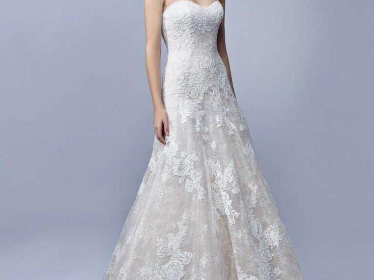 Ezek az olcsó esküvői ruhák is csinosak