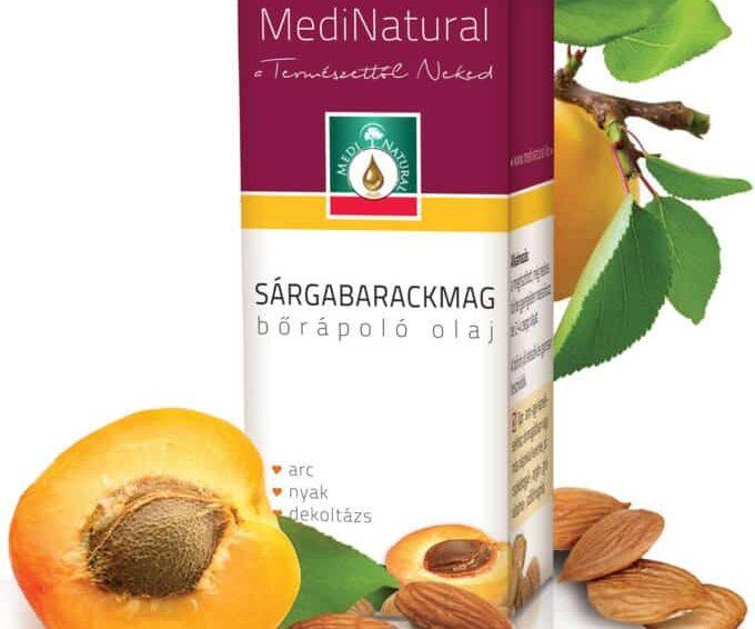 Vitaminokkal hidratál a sárgabarackmag olaj