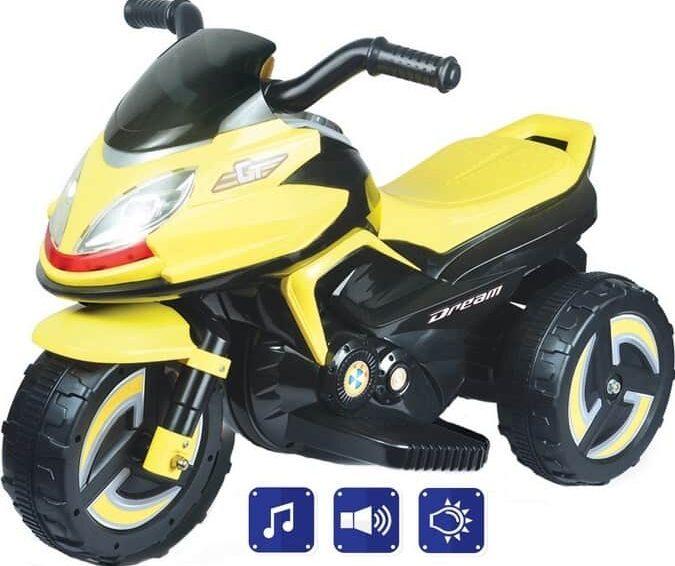 Izgalmas közlekedés az elektromos gyerekmotor segítségével