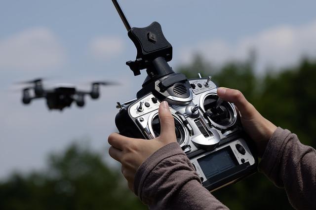 A Syma drón kezelése nem bonyolult