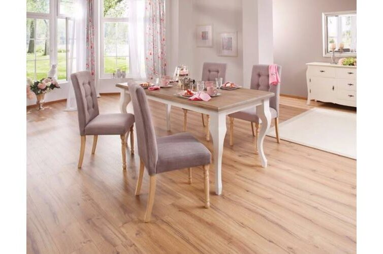 A vintage stílus kiváló példája a tölgyfa étkezőasztal